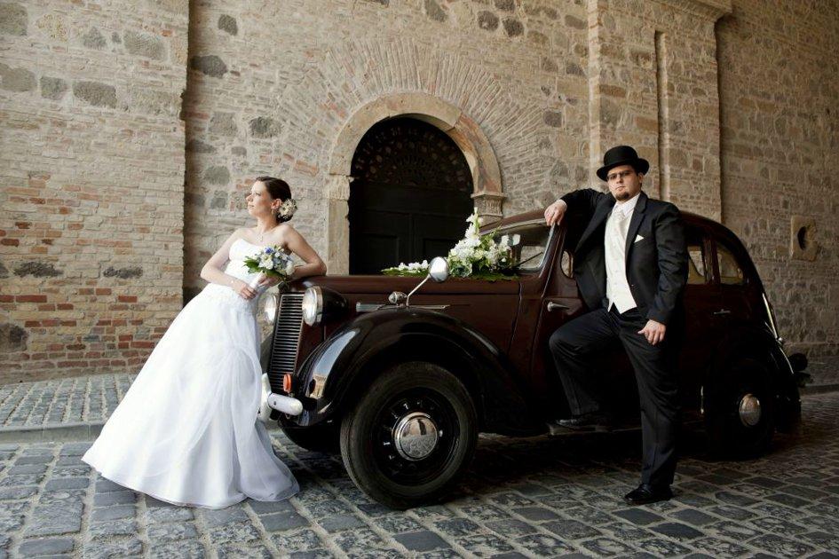 Wedding concept Retro style