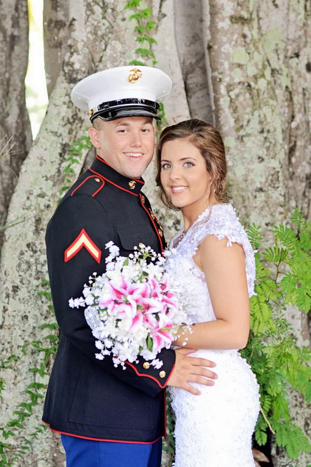 Wedding concept Military Style