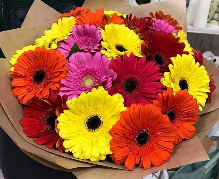 Gerberas Bouquet 031