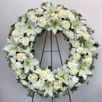 Sympathy Wreath 008