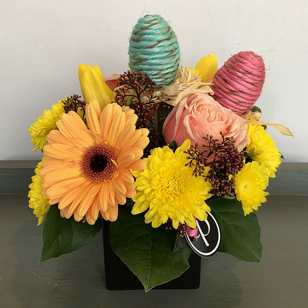 Easter flowers arrangement