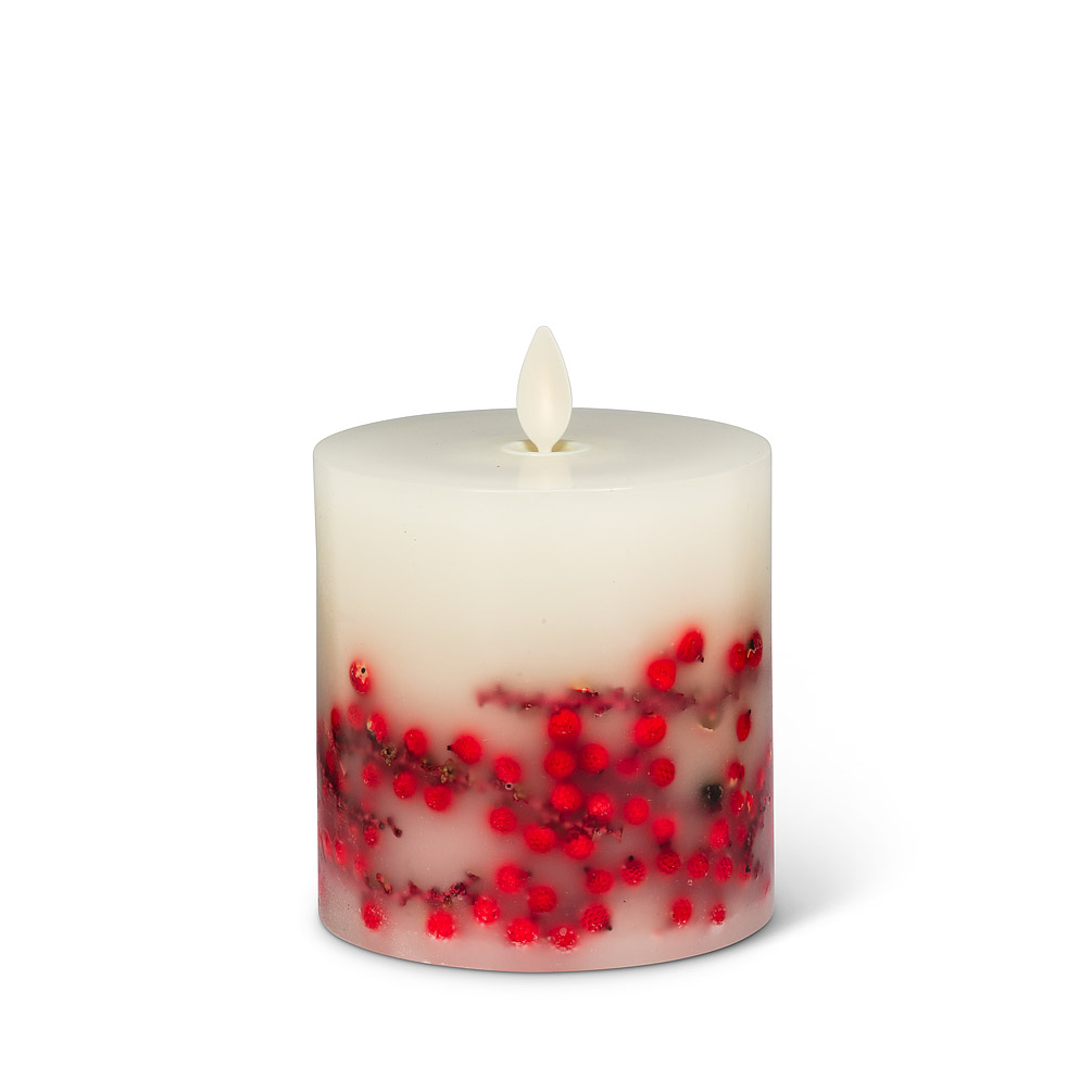 Reallite Small Berry Candle