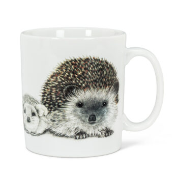 Hedgehog Family Jumbo Mug