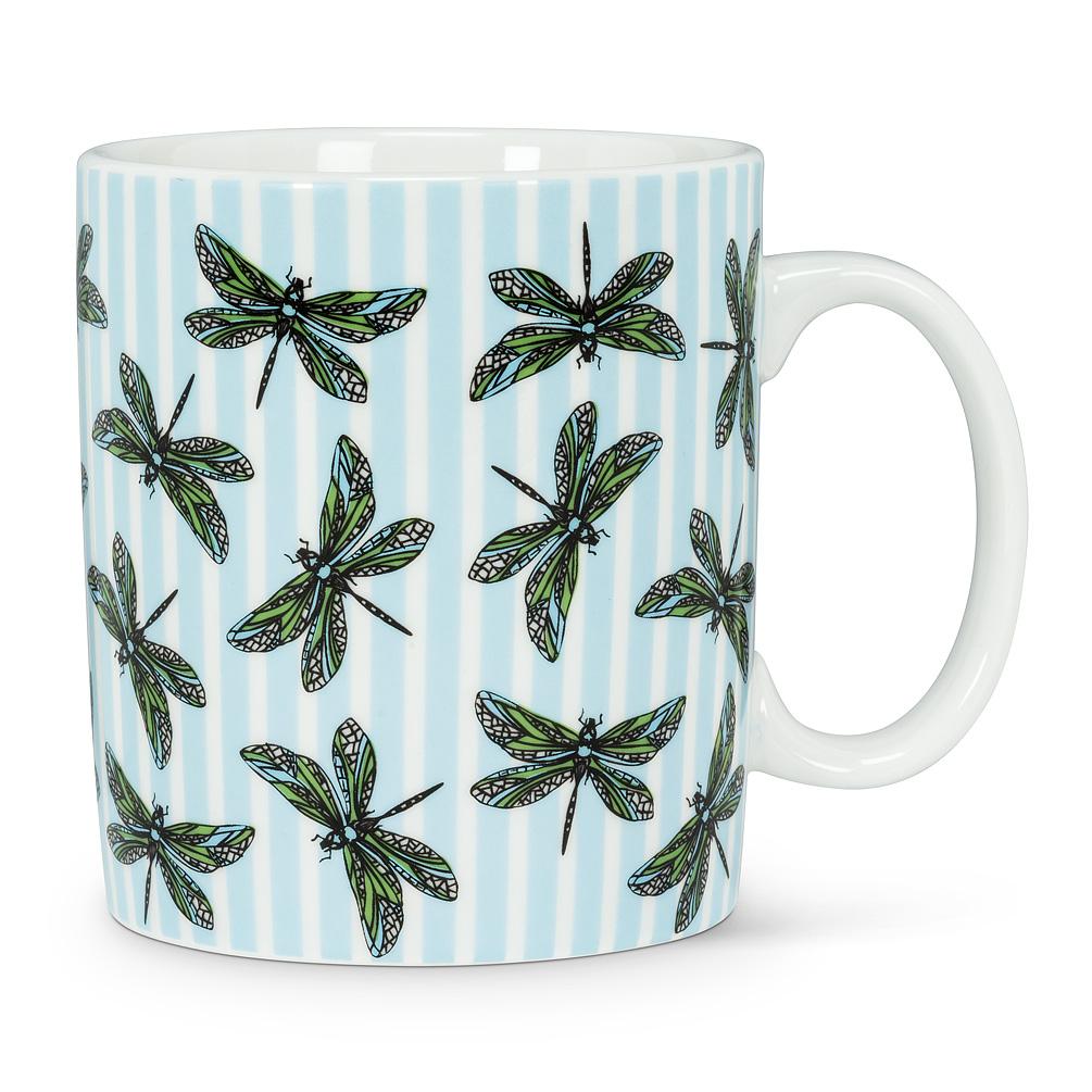 Dragonfly Stripe Jumbo Mug