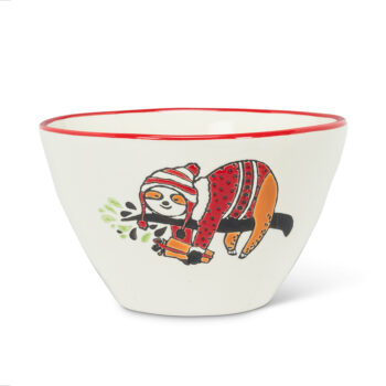 Sloth in Sweater Bowl