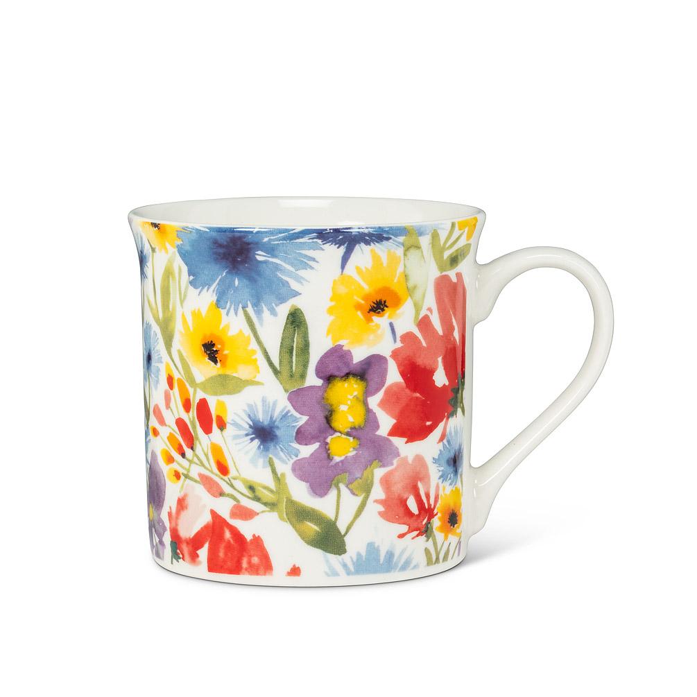 Allover Flower Mug