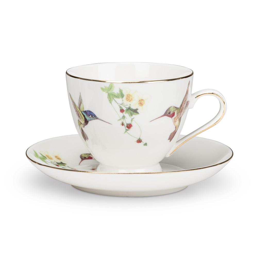 Hummingbird Cup & Saucer